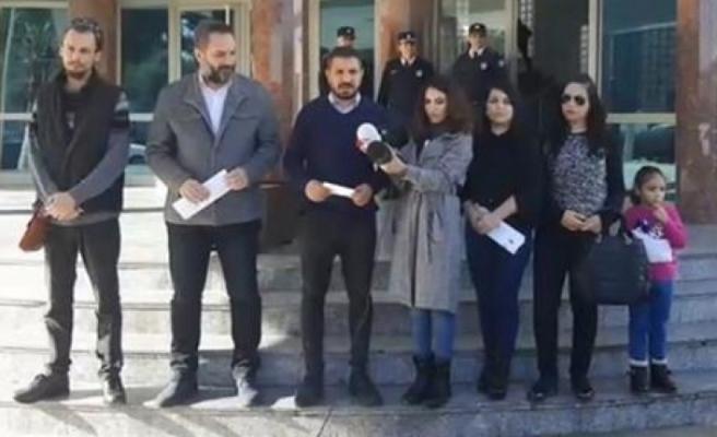 Basın-Sen İçişleri Bakanı Baybars'ı protesto etti