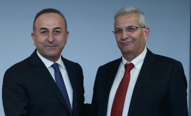 Kiprianu Türkiye Dışişleri Bakanı Çavuşoğlu'yla Görüştü