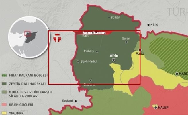 Afrin'de Türk askerlerine ateş açıldı: 'Karşılık verildi'