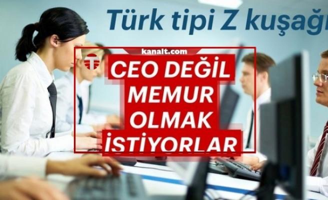Gençlerin yüzde 43'ü memur olmak istiyor (Türk tipi Z kuşağı araştırması)