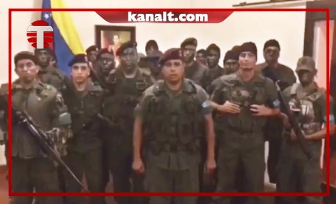 Venezuela Ordusu Darbecileri Tutukladı