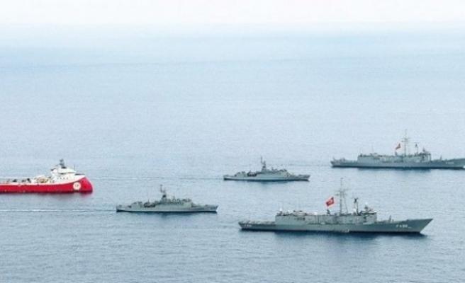 Barbaros, Savaş Gemileri Korumasında 9. Parsele Girdi