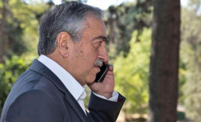 Cumhurbaşkanı Akıncı, Denktaş'a Başsağlığı Diledi