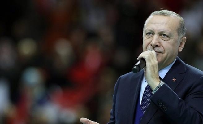 Erdoğan'a kenevirden gömlek
