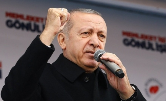 Erdoğan: Ülkemizi patlıcan, domates, biber üzerinden ters köşe yapmaya çalışıyorlar