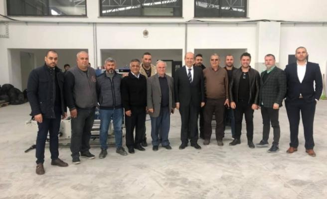 Tatar, Alayköy Sanayi Esnafı İle Görüştü