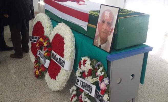 Tuğrul Hilmi Berkay, BRT'de düzenlenen törenin ardından son yolculuğuna uğurlandı