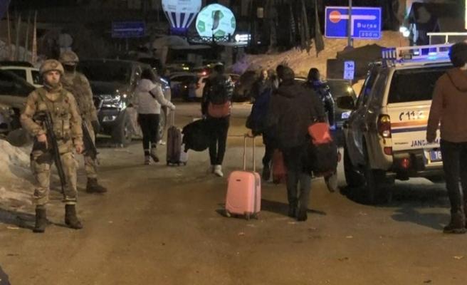 Uludağ'da Kavga: 1 Ölü 2 Yaralı