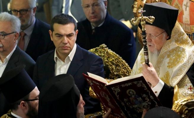 Venizelos'tan 86 yıl sonra ilk: Çipras Heybeliada Ruhban Okulu'na gitti.