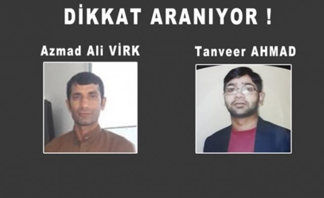 Gökhan Naim Cinayeti Zanlılarından Azmad Ali Virk Ve Tanver Ahmad Aranıyor
