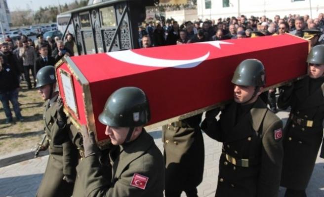 Kıbrıs şehidi son yolculuğuna uğurlandı