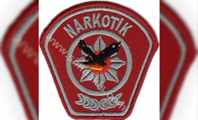 KKTC'de polisten uyuşturucu operasyonu