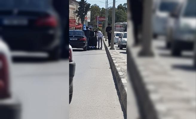Lefkoşa'da kaza! 1 yaralı