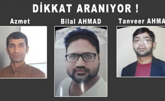 Polis cinayetle ilgili aranan 3 kişinin fotoğraflarını yayımladı
