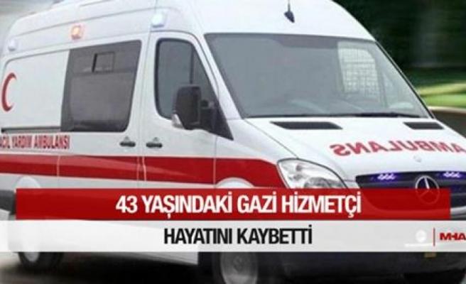 Çatalköy'de bir kişi yaşamını yitirdi