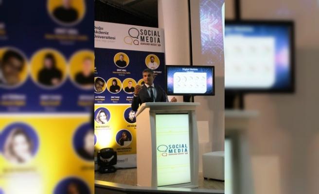 Creditwest Bank Genel Müdürü Zaheer, Daü Sosyal Medya ve Marka Haftası'nda Sunum Gerçekleştirdi