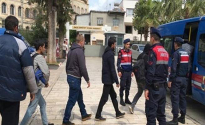 Mersin'den Kıbrıs'a Gelmeye Çalışan 19 Düzensiz Göçmen Yakalandı