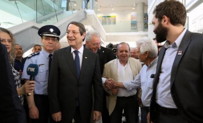 Anastasiades Kıbrıslı Türklerin seçime katılım oranından memnun