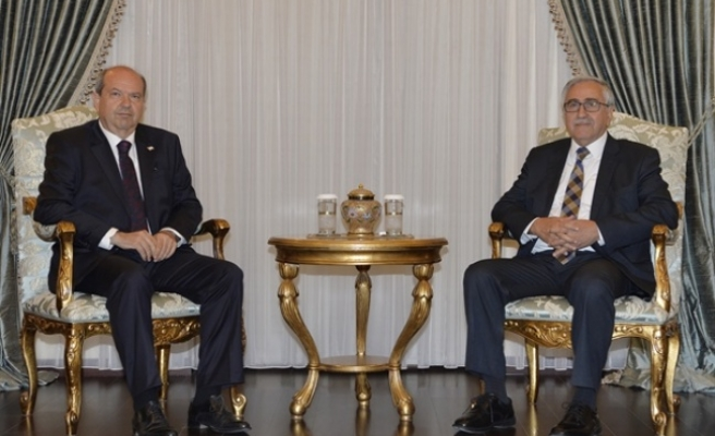 Cumhurbaşkanı Akıncı Saat 12.30'da Tatar'ı Kabul Edecek
