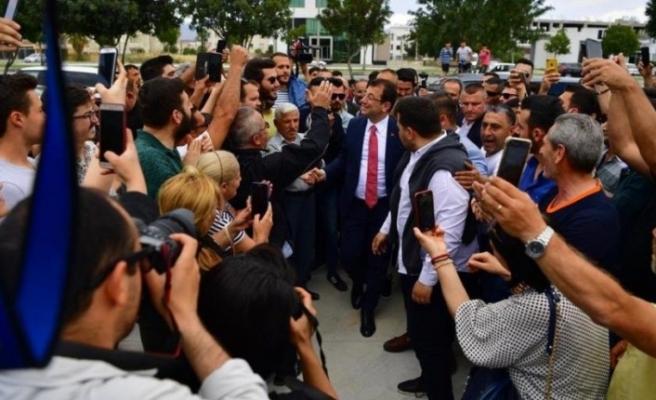 Ekrem İmamoğlu, KKTC'de gönüllere taht kurdu