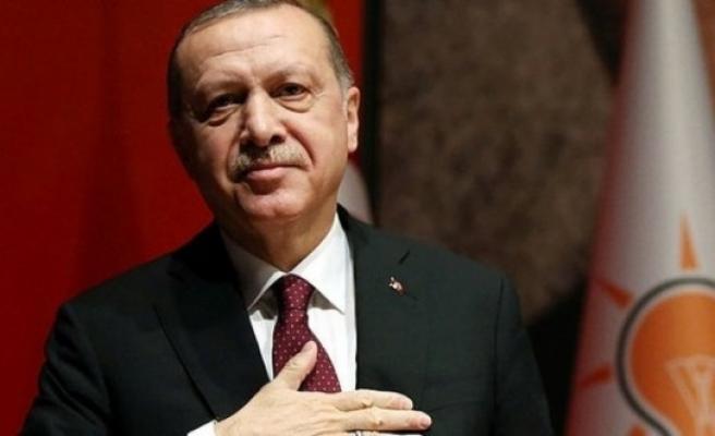 Erdoğan'dan, Tatar'a Kutlama