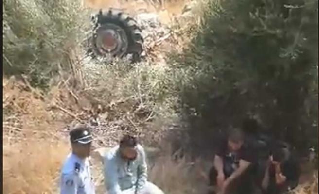 Görneç'te traktör devrildi bir kişi öldü