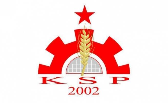 """KSP: """"ÖNEMLİ GERÇEKLERİN GİZLENDİĞİ ENDİŞELERİNİ TAŞIMAKTAYIZ"""""""