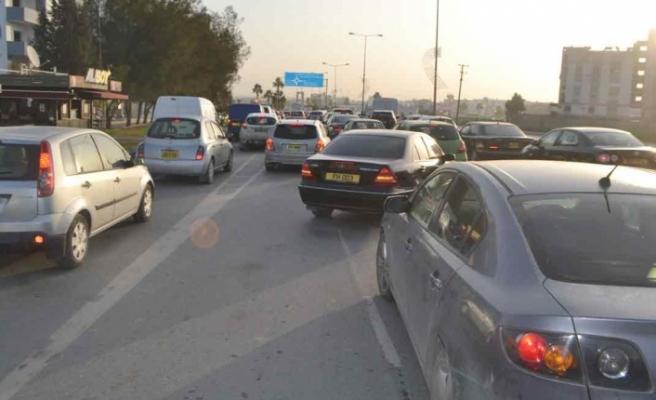 Lefkoşa'da Yeni Trafik Uygulaması!