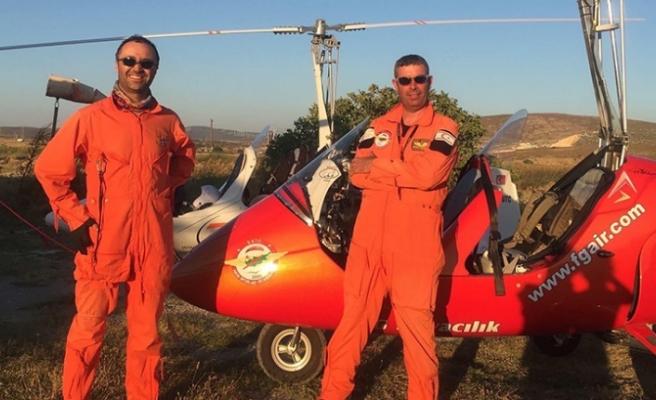 Başarılı pilotlar Serkan Özcezarlı ve Hakan Çetinkaya hayatını kaybetti