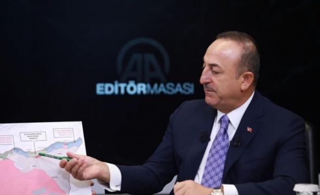 """Çavuşoğlu'ndan sert çıkış:  KKTC'de """"Bazı sendikacılar ve bazı siyasetçiler var  'Türkiye mi, Rum kesimi mi?' desem Rum kesimini tutarlar"""""""