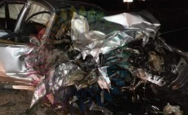Kara Pazar: Turunçlu'da feci kazada 3 kişi hayatını kaybetti