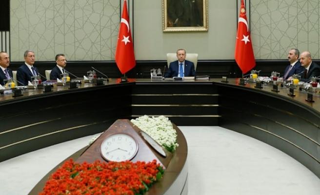 Suriye ve Doğu Akdeniz konusundaki kararlılık vurgulandı.