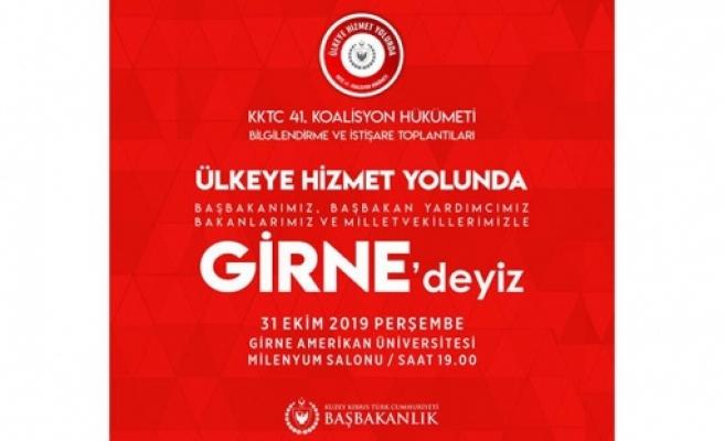 UBP-HP hükümeti bu akşam Girne'de