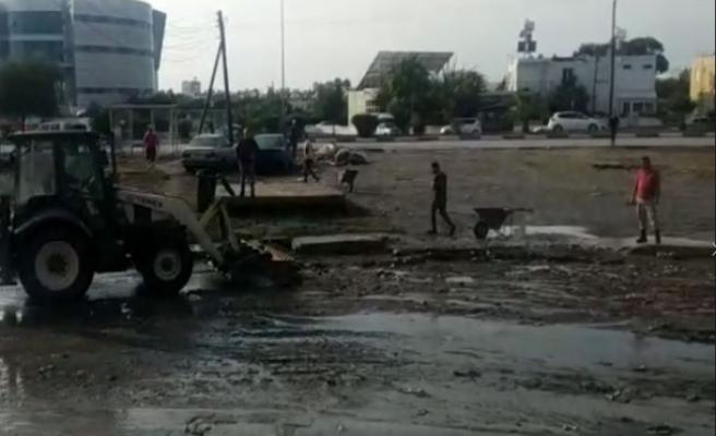 Yağıştan zarar gören işletmelerin yetkililerden umudu yok