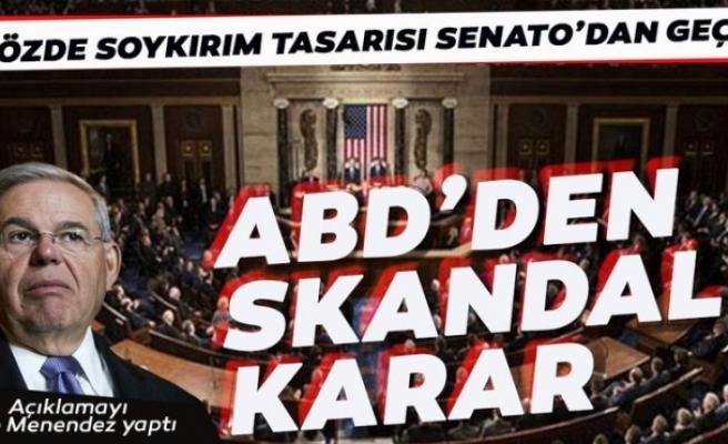 ABD'den skandal karar