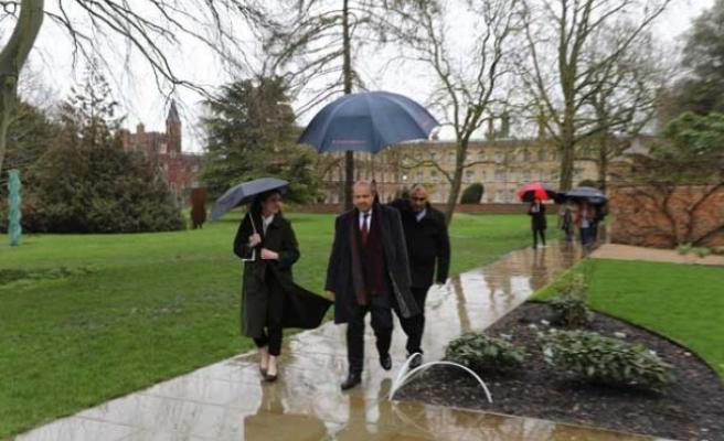 Başbakan Tatar İngiltere'de temaslarına başladı... İlk durak mezun olduğu okul
