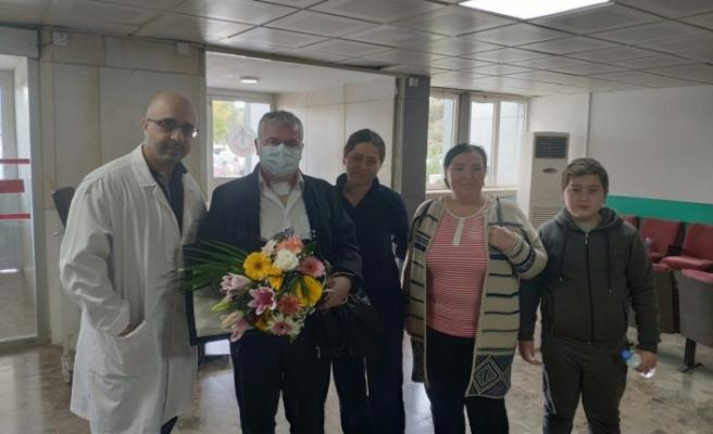 KKTC'de kalp nakli yapılan ikinci hasta taburcu oldu