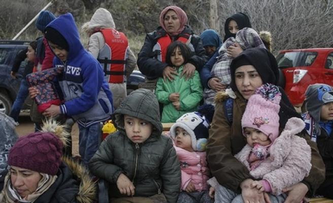 Göçmenler Yeşil Hatta dayandı