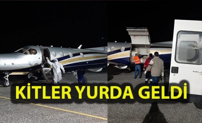 Mete Özmerter'in uçağı Ercan'a indi