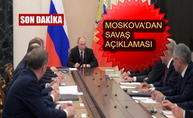 Putin'den Son Dakika Açıklaması