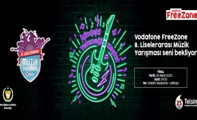 Telsim Freezone 8. Liselerarası Müzik Yarışması'nda Sahne Sıralaması Belirlendi