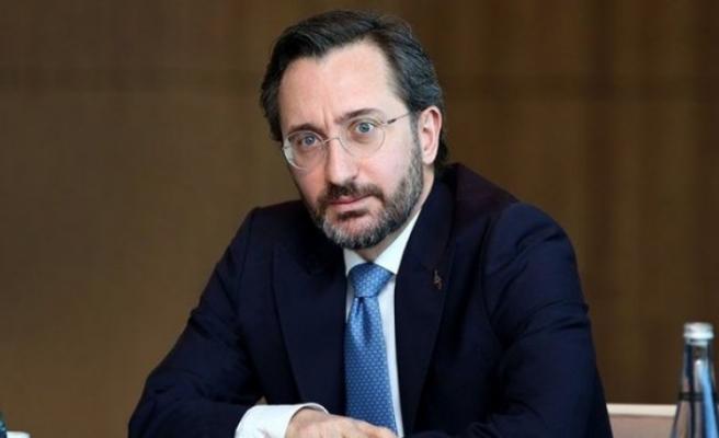 İletişim Başkanı Altun: Türkiye'nin corona virüsle mücadelesi dünya için emsal