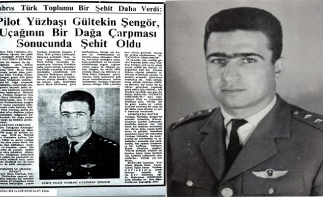 Yrd.Doç.Dr.Muharrem Özdemir yazdı: Kıbrıslı Türk Şehit Pilot Yüzbaşı Gültekin Şengör