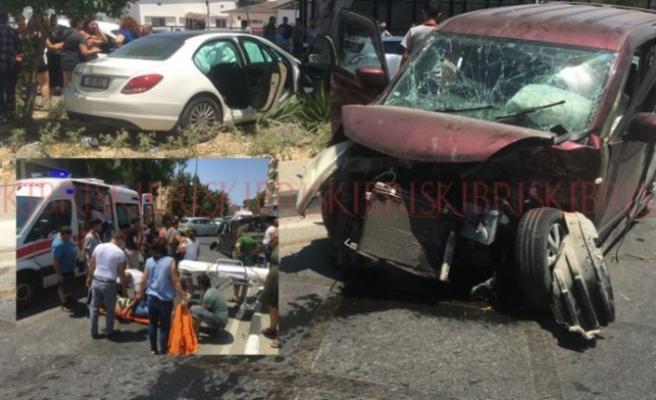 KKTC'de son bir haftada 38 trafik kazası meydana geldi