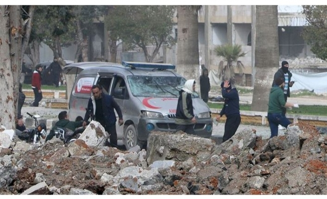Afrin ve İdlib'de bombalı saldırı