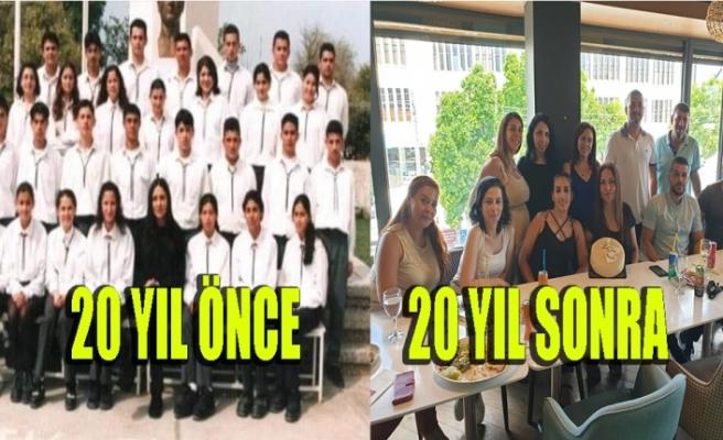 Haydar Paşa Ticaret Lisesi mezunları 20 yıl sonra buluştu