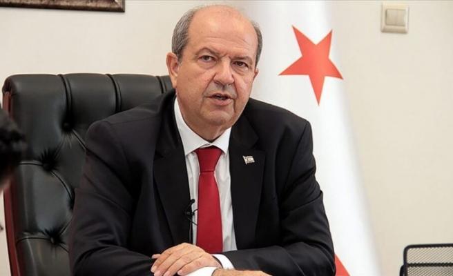 """Tatar: """"Kıbrıs Türkü direnmeseydi ne olacağı açıktır"""""""