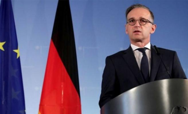 """Almanya Dışişleri Bakanı Maas: """"Doğu Akdeniz'de diplomatik çözüme ihtiyaç var"""""""