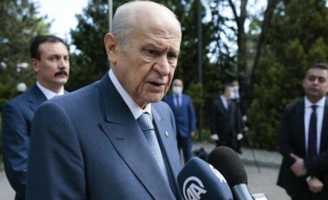 """Bahçeli: """"Kıbrıs'ın güneybatısında Yunanistan'ın hevesi kursağında kaldı"""""""
