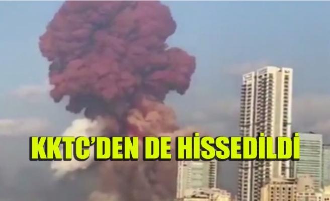 Beyrut'ta çok  şiddetli patlama